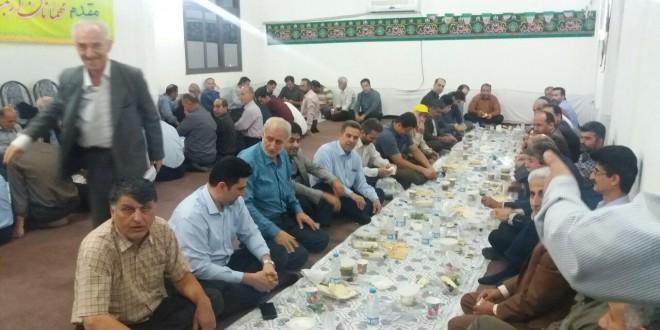 ضیافت افطاری سال ۹۷ خانه کارگر تشکیلات گیلان به روایت تصویر …
