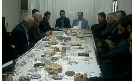 جلسه هم اندیشی تشکلهای کارگری استان گیلان با فرمانداررشت