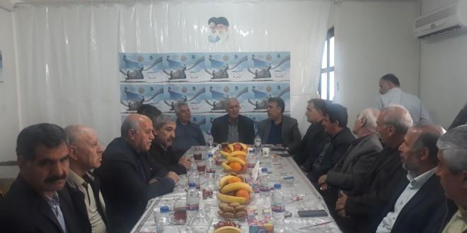 دیدار هیئت مدیره کانون بازنشستگان تامین اجتماعی تبریز با هیئت اجرایی خانه کارگر گیلان