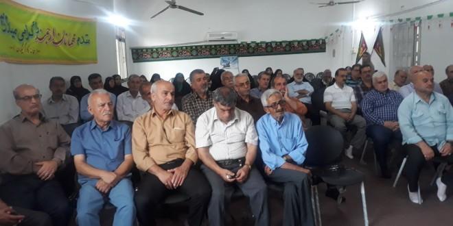 برگزاری مراسم تکریم از بازنشستگان به مناسبت هفته دولت