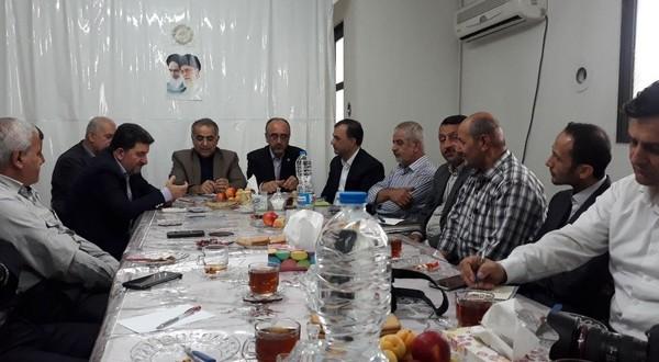 هم اندیشی تشکل های کارگری با مدیرکل تامین اجتماعی استان بمناسبت هفته تامین اجتماعی