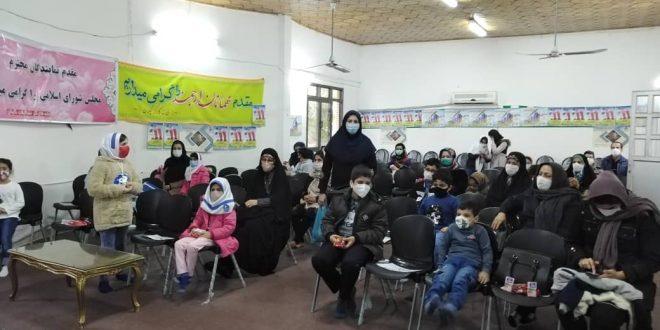 دارالقرآن خانه کارگر گیلان طی مراسمی از قرآن آموزان با اهدای جوایز تقدیر نمود